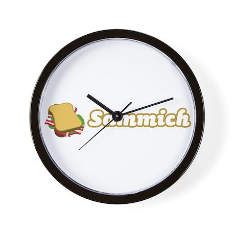 Sammich Wall Clock