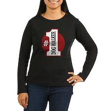 #1 Dog Walker T-Shirt