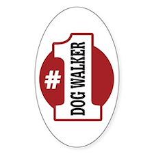 #1 Dog Walker Decal