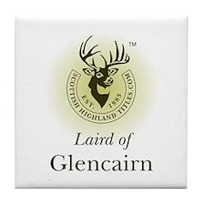 Laird of Glencairn Tile Coaster