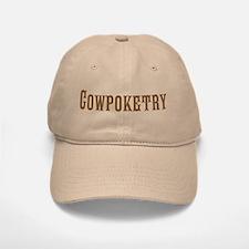 Cowboy Poetry Baseball Baseball Cap