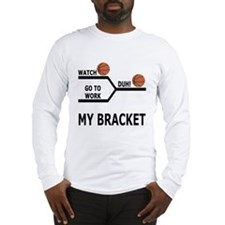 March Madness Skip Work Long Sleeve T-Shirt