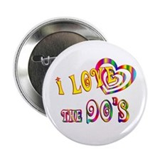 """I Love the 90s 2.25"""" Button"""