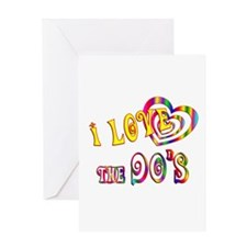 I Love the 90s Greeting Card