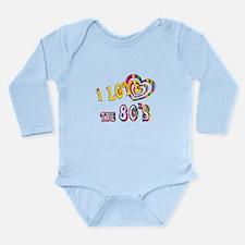 I Love the 80s Long Sleeve Infant Bodysuit