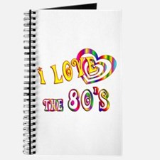 I Love the 80s Journal
