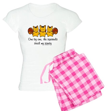 One by one, the squirrels Women's Light Pajamas