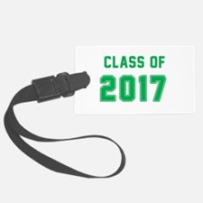 Class of 2017 - Green Luggage Tag