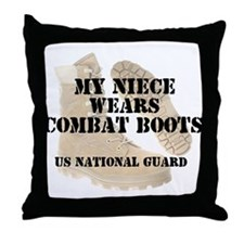 My Niece Wears NG DCB Throw Pillow