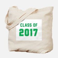 Class of 2017 - Green Tote Bag