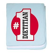 #1 Dietitian baby blanket