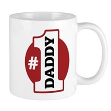 #1 Daddy Small Mugs