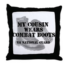 My Cousin Wears NG CB Throw Pillow