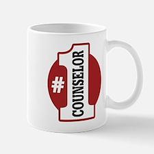 #1 Counselor Mug