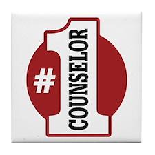 #1 Counselor Tile Coaster