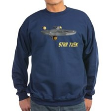 Enterprise Front Back Sweatshirt