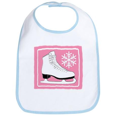 Pink Ice Skate Bib