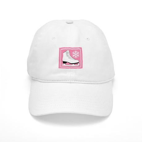 Pink Ice Skate Cap