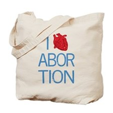 I Heart Abortion Tote Bag