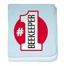 #1 Beekeeper baby blanket