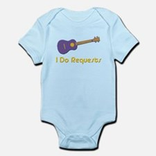 funny ukulele Infant Bodysuit