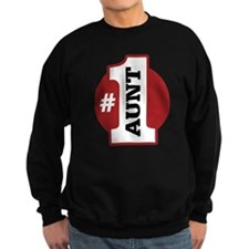 #1 Aunt Sweatshirt