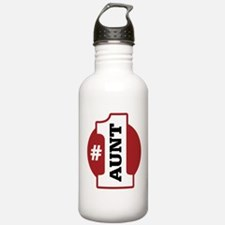 #1 Aunt Water Bottle