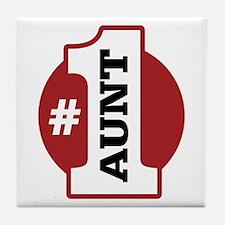 #1 Aunt Tile Coaster