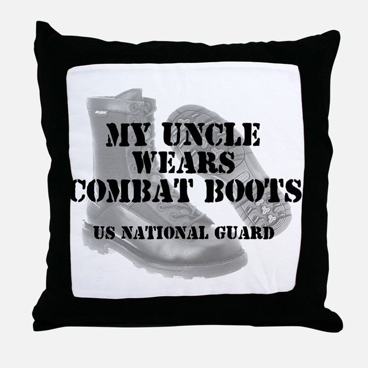 My Uncle Wears NG CB Throw Pillow