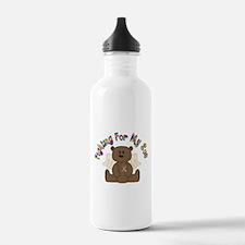 Autism Bear- 4 Son Water Bottle