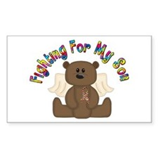 Autism Bear- 4 Son Decal