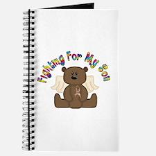 Autism Bear- 4 Son Journal