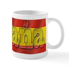 Silky Flag of Espana Mug