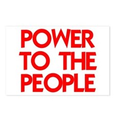 POWER TO THE PEOPLE Postcards (Package of 8)