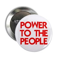 "POWER TO THE PEOPLE 2.25"" Button"