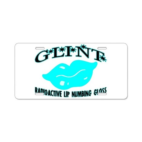 Glint Gloss Aluminum License Plate