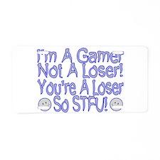 I'm A Gamer Aluminum License Plate
