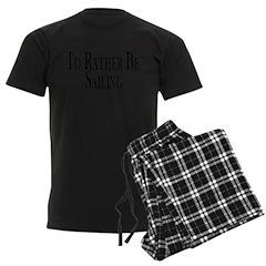 Rather Be Sailing Pajamas