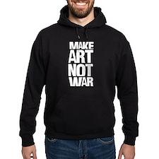 MAKE ART NOT WAR Hoodie