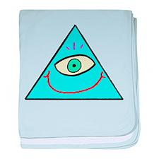 Smilluminati baby blanket