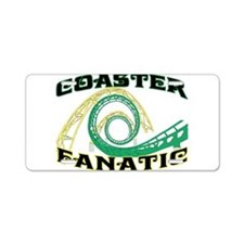 Coaster Fanatic Aluminum License Plate