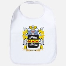 Tylor Family Crest - Coat of Arms Baby Bib