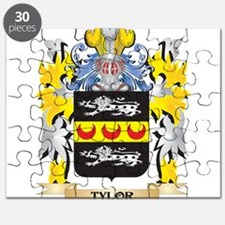 Tylor Family Crest - Coat of Arms Puzzle