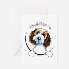 Petit Basset Griffon Vendeen IAAM Greeting Card