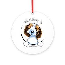 Petit Basset Griffon Vendeen IAAM Ornament (Round)