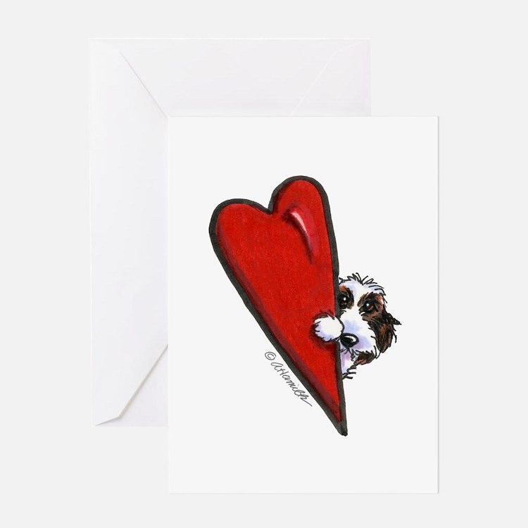 PBGV Lover Greeting Card