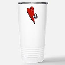 PBGV Lover Stainless Steel Travel Mug