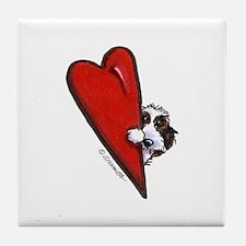PBGV Lover Tile Coaster