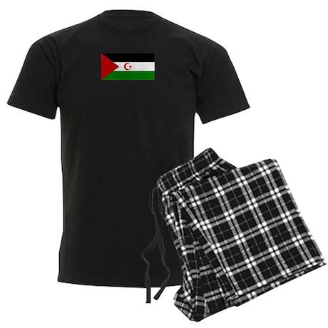 Western Sahara Men's Dark Pajamas