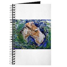 Fox Terrier in Blue Journal